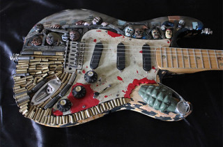 Hard Core Zombie Apocalypse Guitar