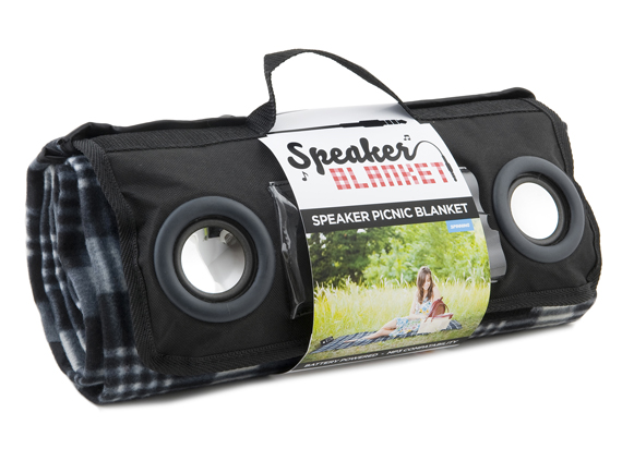Speaker Blanket Guarantees A Rockin Picnic