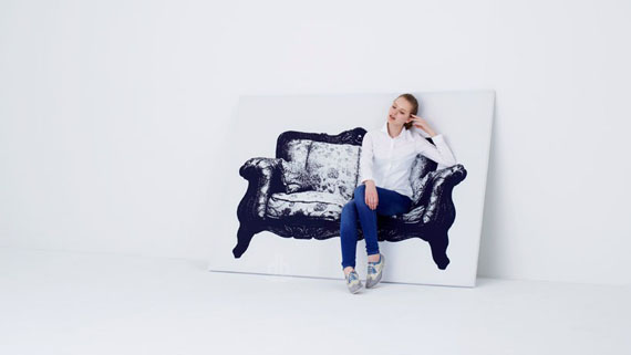 Chair Paintings You Can Sit In IRL