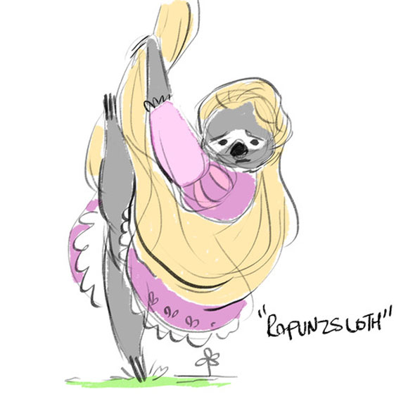 disney-princess-as-sloth-10
