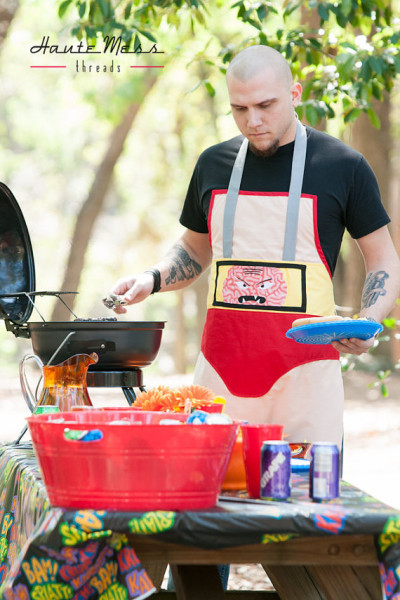 Grillin' Villains: Aprons Inspired By Bad Guys