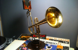 The Trumpet iPhone Speaker Amplifier
