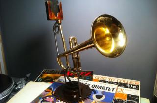 The Trumpet iPhone Speaker Amplifier