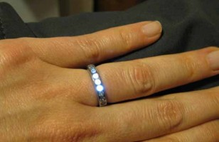Ring Lights Up When You Hold Hands