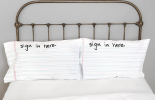 Keep Track Of Your Conquests With Sign In Pillowcases