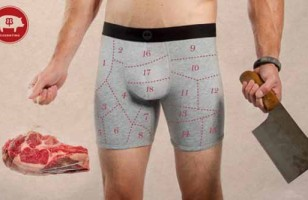 Yeesh!: Butcher's Chart Boxer Briefs