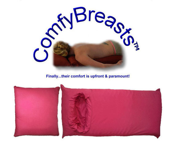 Body Pillow With Holes To Fit Breasts