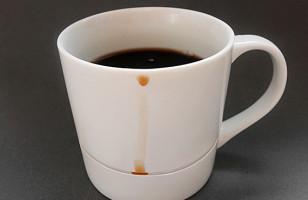 Quit Spilling Coffee, Get A Drop Rest Mug