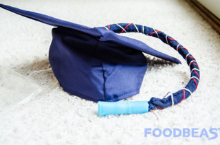 DIY Graduation Cap Flask
