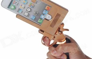 The Pistol-Shaped Novelty iPhone Case