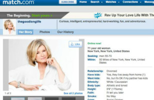 Martha Stewart Is On Match.com