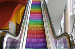 Where Does the Rainbow Escalator Lead?