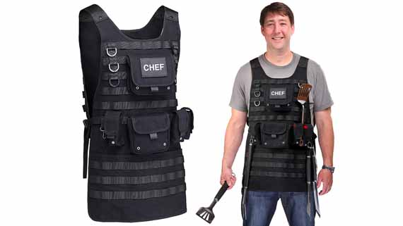 Chef Of Police: A Tactical BBQ Apron