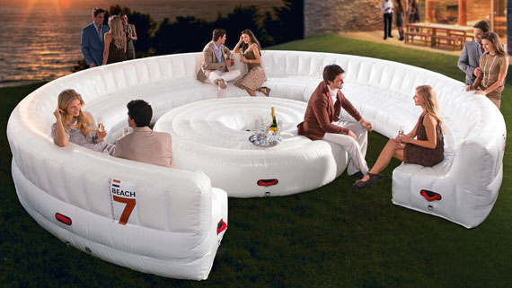 Inflatable Lounge Seats Up To 30 People Incredible Things : thirty person inflatable lounge from www.incrediblethings.com size 570 x 321 jpeg 68kB