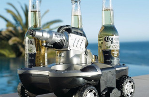Beer Delivery Car Works On Land & Sea