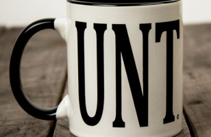 UNT Mug with C-Shaped Handle