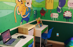 Awesome Adventure Time Bedroom