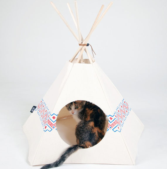 cat-tipi-tent-2 & Cat Tents: Fur Camping With Your Kitty | Incredible Things