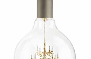 Fancy!: A Chandelier Inside A Light Bulb