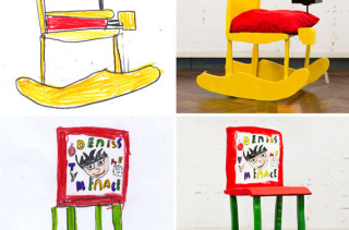 Kids' Drawings Made Into Real Furniture