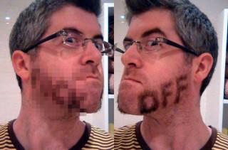Rude Facial Hair Is Rude!