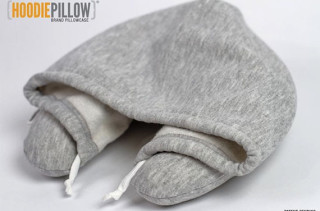 The Travel Neck Pillow & Hoodie Combo