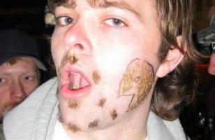 LOLWUT?: Pac-Man Facial Hair
