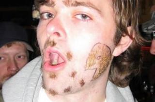 LOLWUT?: Pac-Man Facial Hair