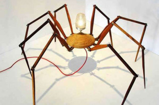 I'd Rather Sit In Darkness: Spider Lamp