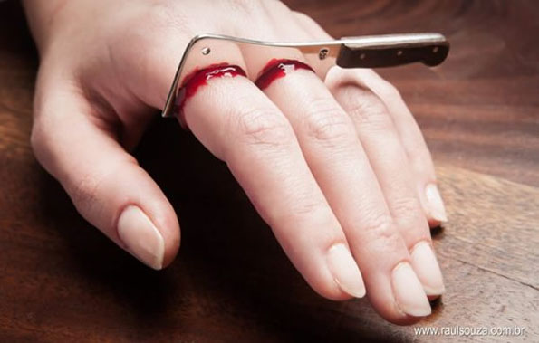 Bloody Cleaver Ring