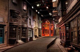 Peep Diagon Alley On Google Street View