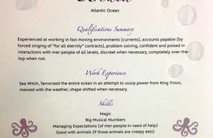 Get A Job!: Disney Villains' Résumés