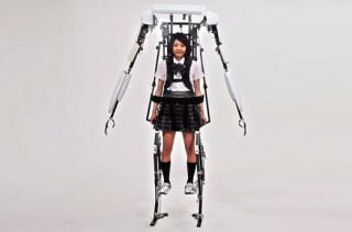 An Exoskeleton To Make You Taller
