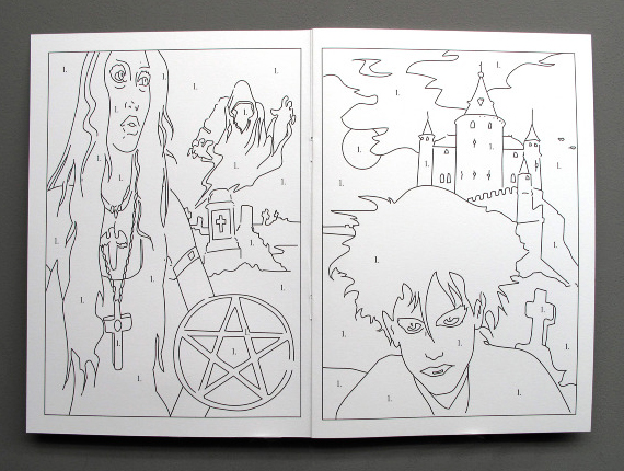 coloring book for goths the goth coloring book incredible things - Gothic Coloring Book