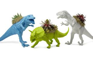 Rawr!! Dinosaur Planters