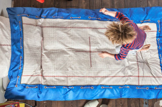 Turn Your Bed Into A Trampoline