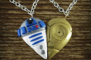 R2D2 & C3PO BFF Necklaces
