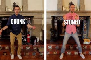 Drunk vs Stoned