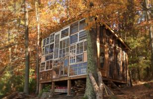 Couple Built A House Made of Windows
