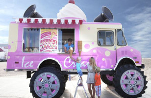 Ice Cream Monster Truck