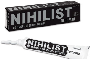 Nihilist Toothpaste Feels Like Brushing Your Teeth With Nothing