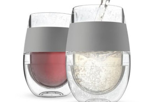 Self-Chilling Wine Glasses