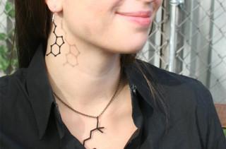 Caffeine, Dopamine, and More Custom Molecule Jewelry