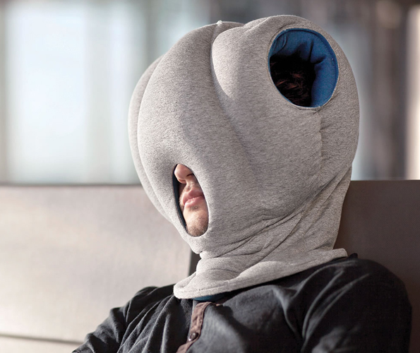 Serious Nappers Only: Power Nap Head Pillow