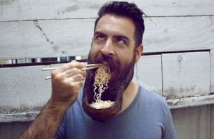 Hairy Soup: Ramen Beard Bowl