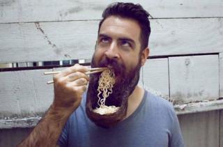 Hairy Soup: Ramen Beard Bowl