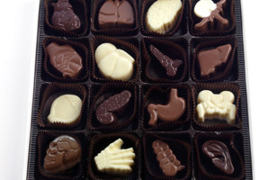 Chocolates Shaped Like Organs