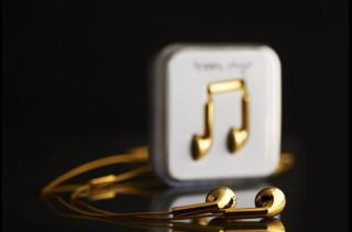 $14.5k 18-Carat Gold Earbuds