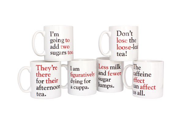 Coffee Mugs for Grammar Nerds