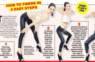Infographic: How To Twerk